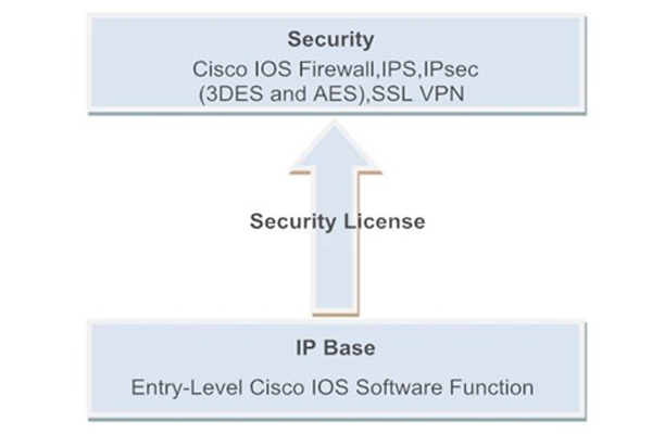 Secutiry License Features